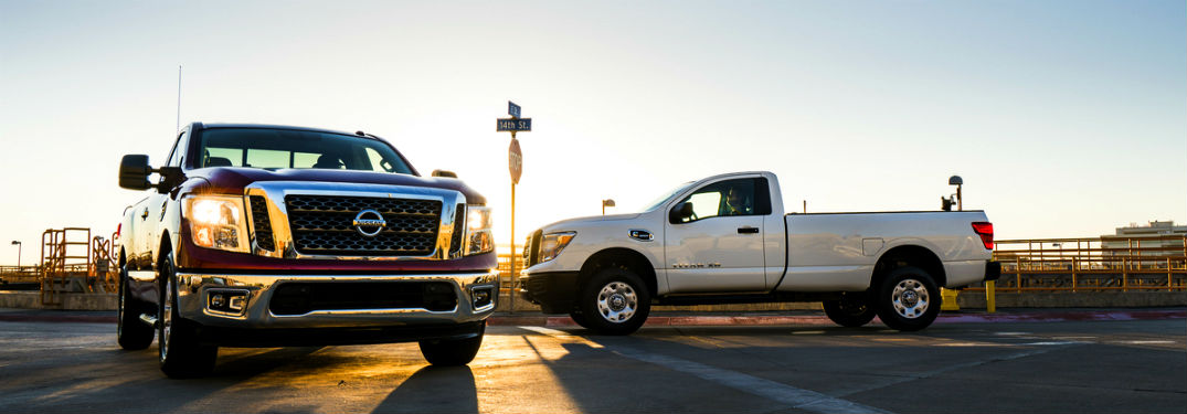 What's the Difference Between the Nissan TITAN and the TITAN XD?
