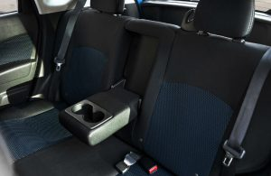 2018 Nissan Versa Note rear seats