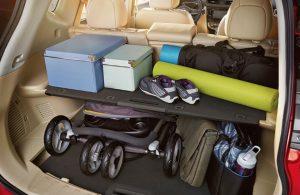 2018 Nissan Rogue rear cargo area