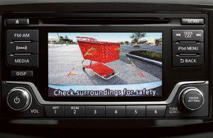 2018 Nissan Sentra rearview camera system