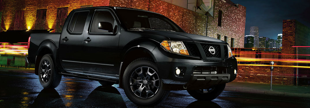 2018 Nissan Frontier parked showing side profile