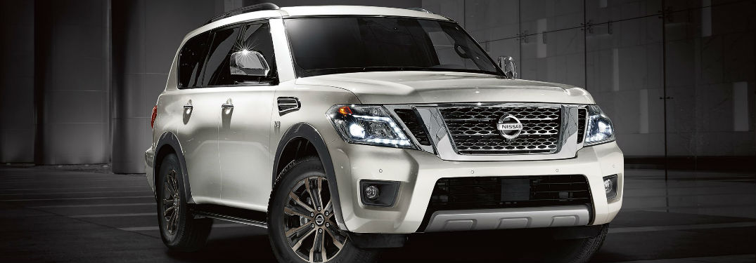 Impressive amounts of passenger and cargo space in 2018 Nissan Armada help make it a top pick for new SUV