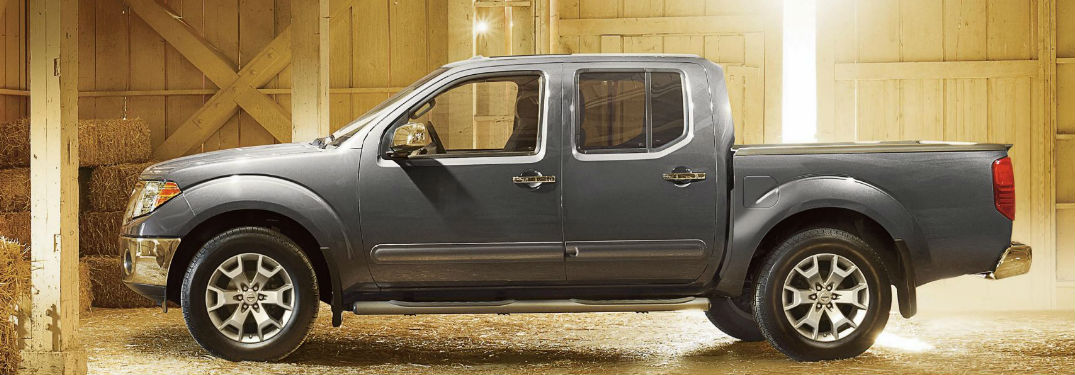 Luxurious comfort options and extensive list of technology features fill interior of new 2018 Nissan Frontier pickup truck