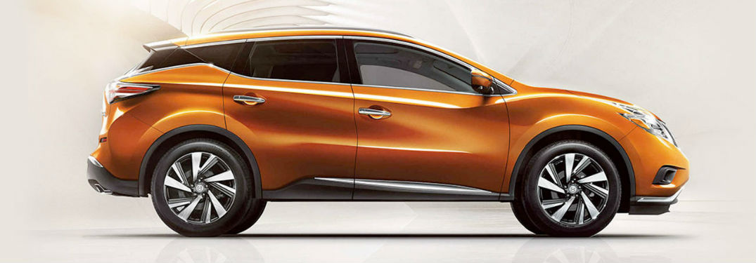 Nissan Murano side profile