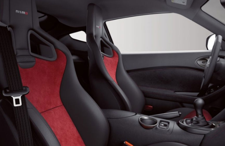 2019 Nissan 370Z Nismo Black Leather/Red Alcantara® Seats
