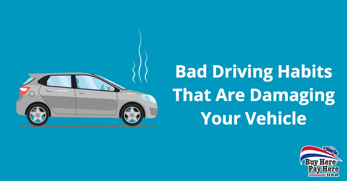 10 worst driving habits that are costing you money - Buy Here Pay Here USA