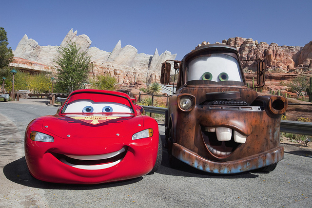 What should I name my car - Lighting McQueen, Mater, Cars
