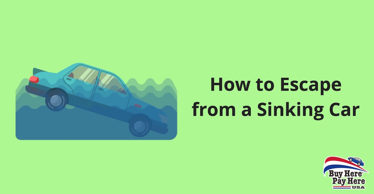 How to Escape from a Sinking Car - Emergency Car Escape