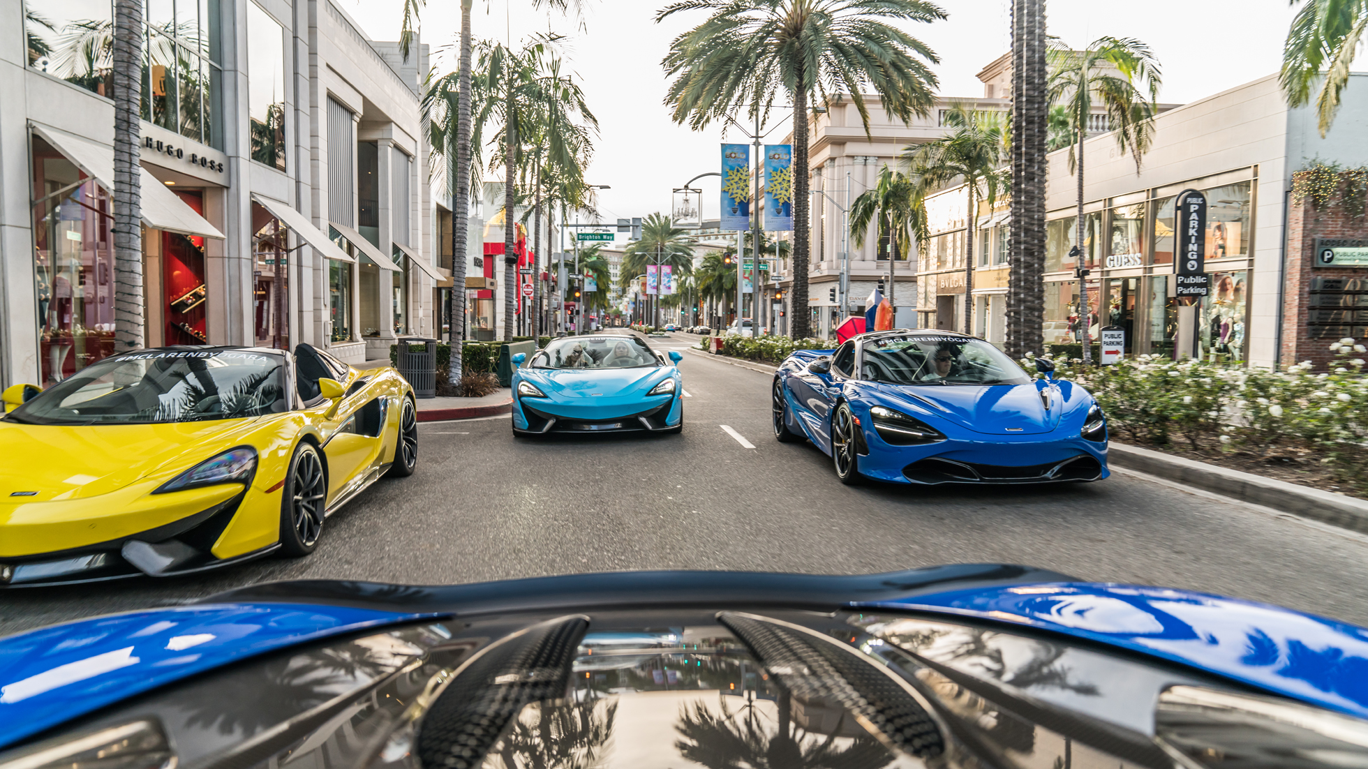 RODEO DRIVE TAKEOVER - MCLAREN BEVERLY HILLS