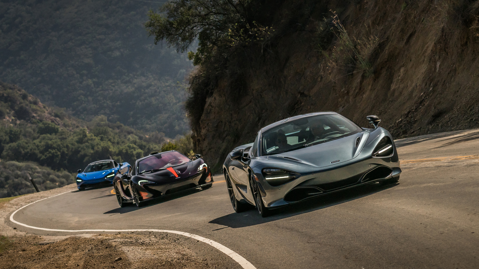 MCLARENS THROUGH MALIBU - MCLAREN BEVERLY HILLS