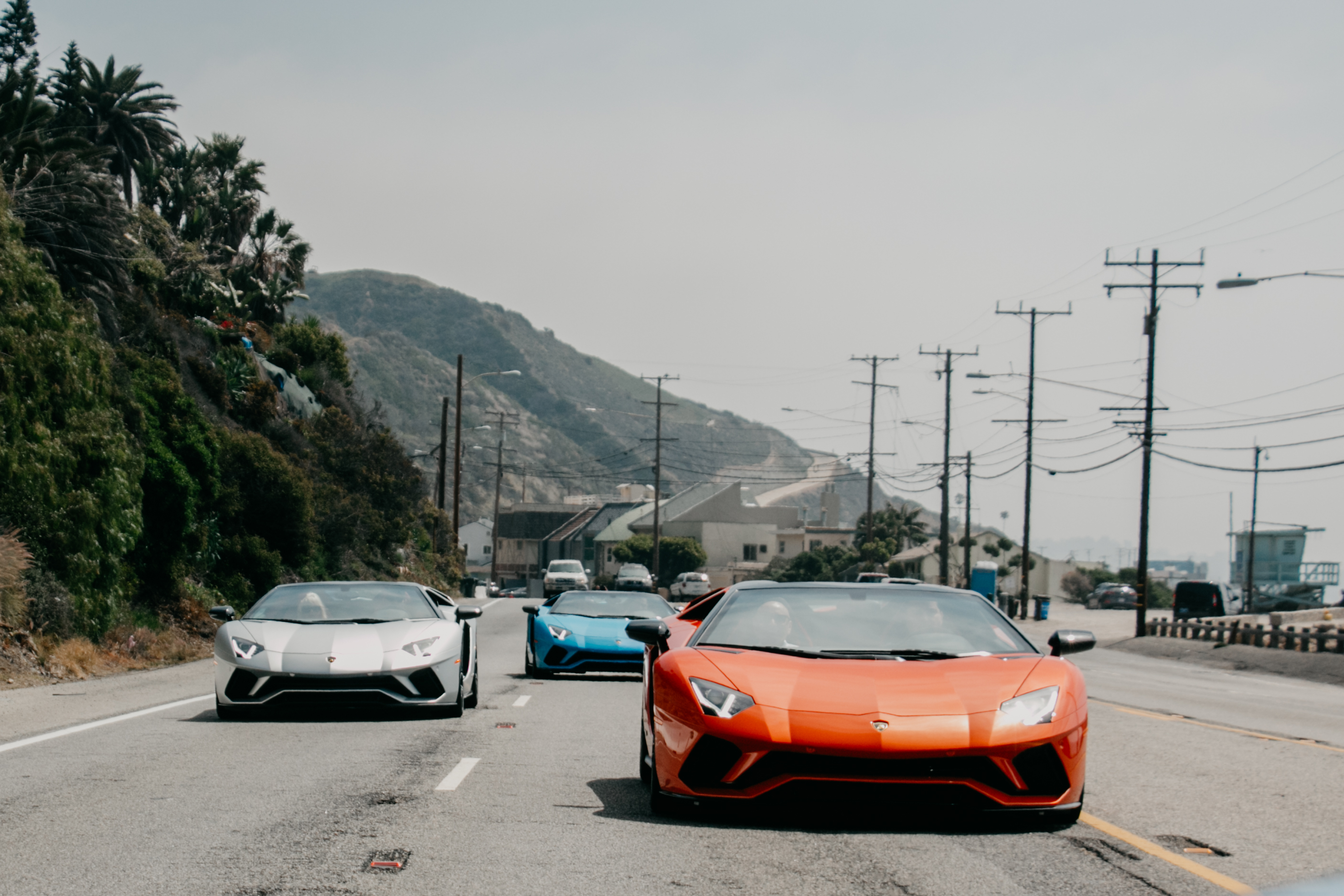 Last Week We Took A Select Few Clients Out For An Extended Test Drive In The  All New Lamborghini Aventador S Roadster! Seeing That Weu0027re Based Here In  Sunny ...