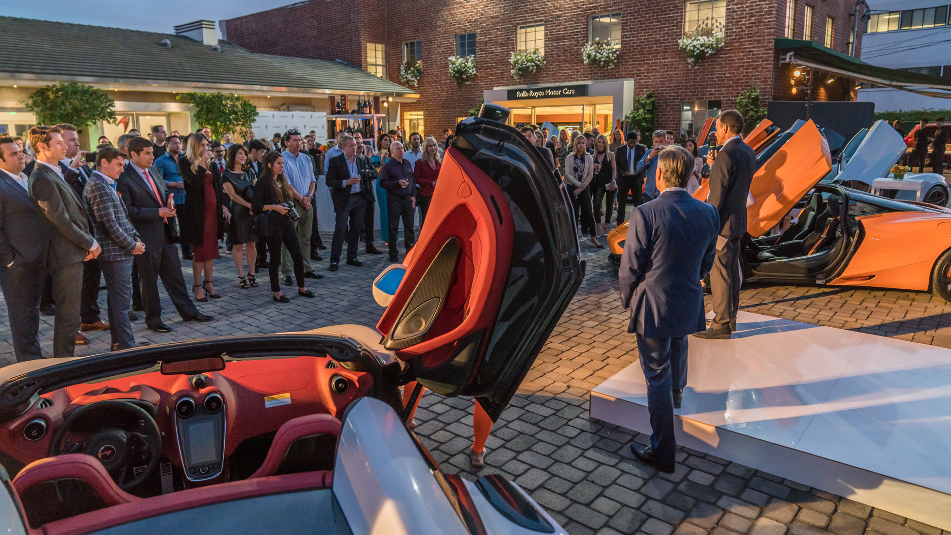 WELCOME TO OUR NEW SHOWROOM - MCLAREN BEVERLY HILLS GRAND OPENING