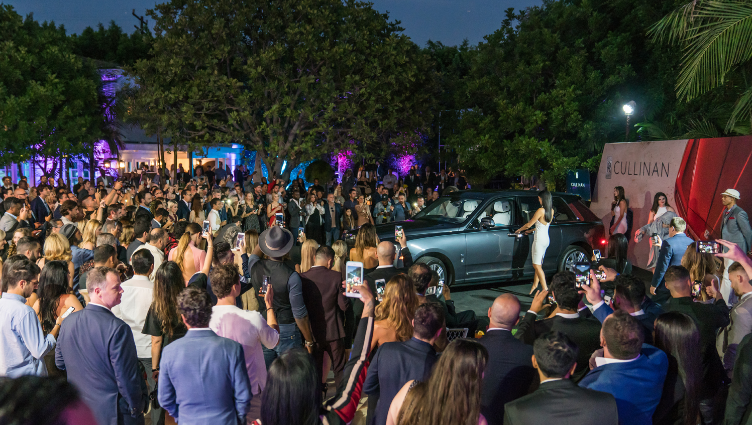 Rolls-Royce Cullinan Unveiling, Rolls-Royce Beverly Hills, O'Gara Coach Beverly Hills, Rolls Royce SUV, Luxury All Terrain Vehicle,