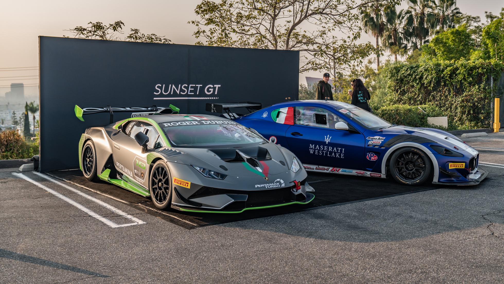 Sunset-GT-Nov-18-2 O'Gara Coach Company Beverly Hills Lambo Maserati