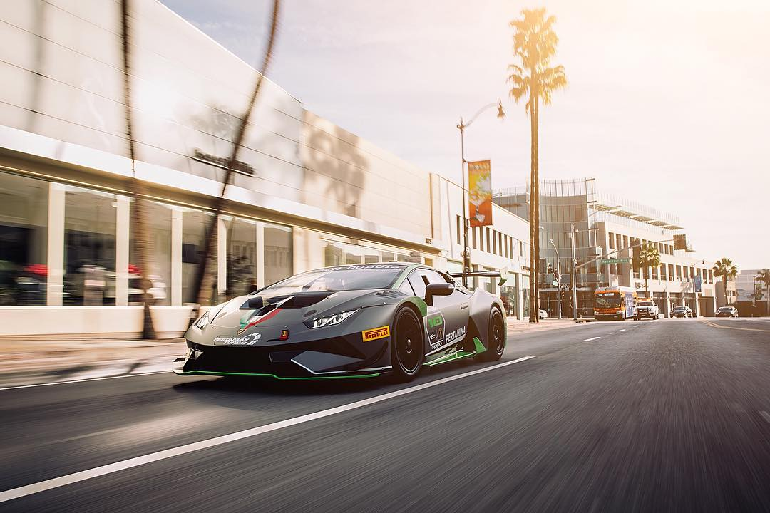 LAMBORGHINI HURACÁN SUPER TROFEO EVO DRIVEN ON RODEO - LAMBORGHINI BEVERLY HILLS