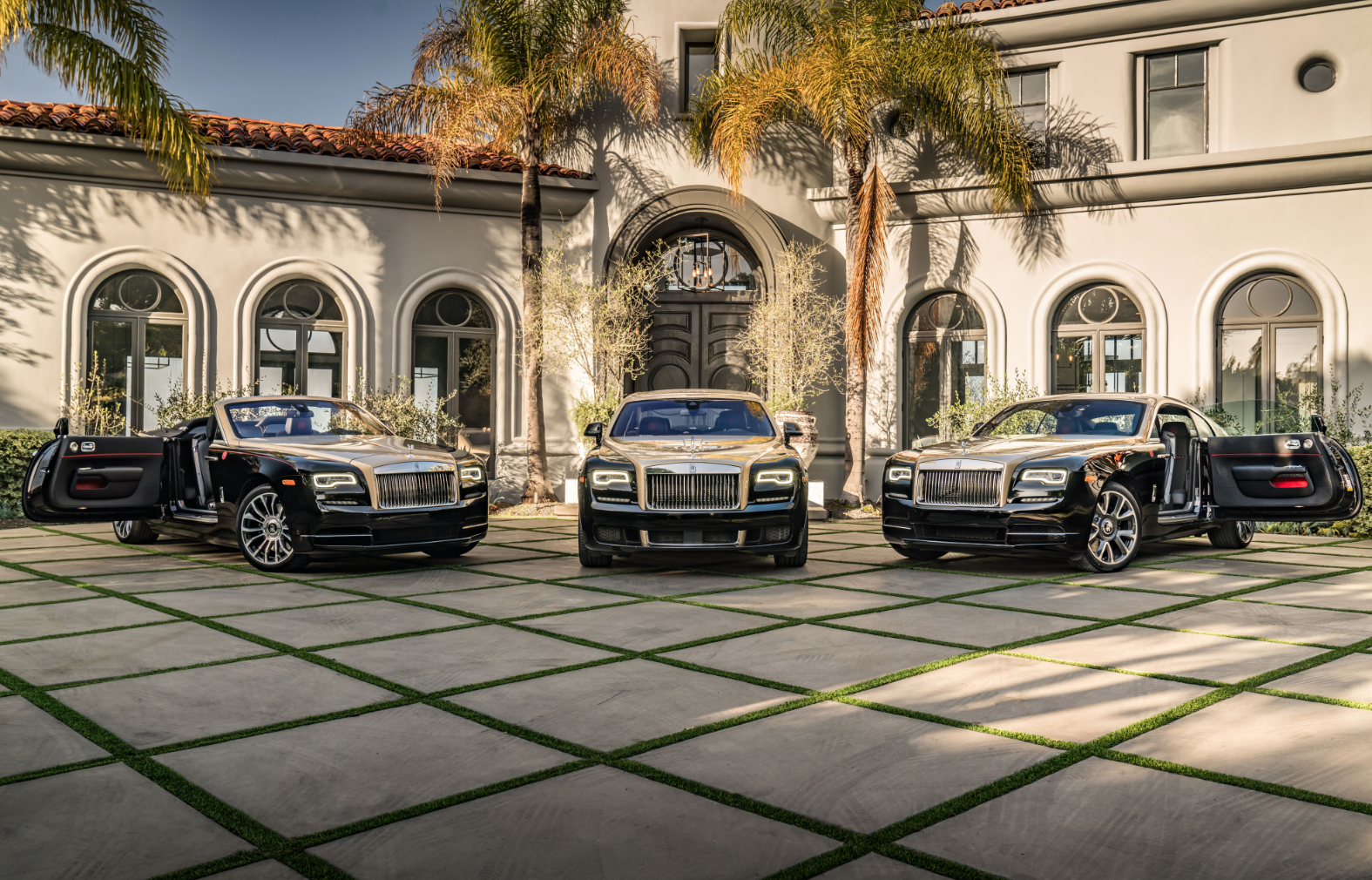 Chinese Chinese New Year O'Gara Coach Beverly Hills Wraith Dawn Ghost Rolls Royce Beverly Hills