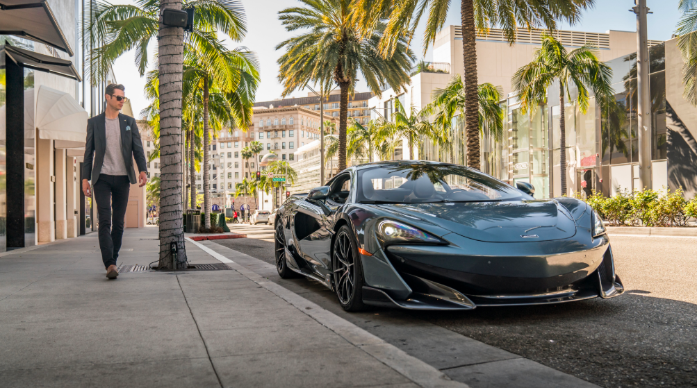 Beau_600LT Beau Rogers of McLaren Beverly Hills on Rodeo Drive O'Gara Coach Beverly Hills McLaren 600LT