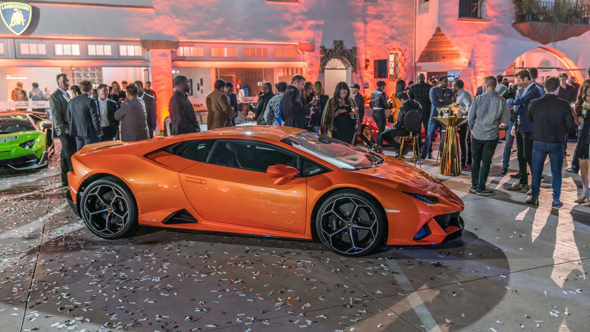 Lamborghini Beverly Hills Grand Opening & Launch of The Huracan EVO