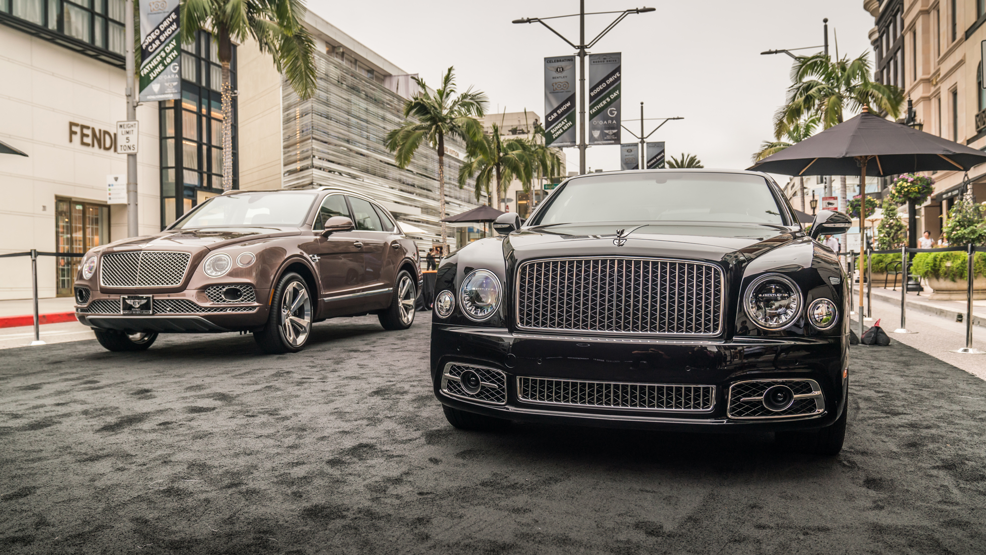 RODEO DRIVE CONCOURS - A BENTLEY BEVERLY HILLS EXPERIENCE