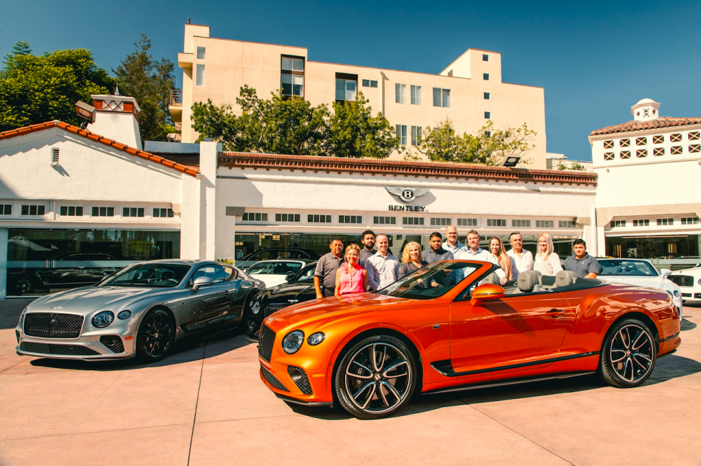 Now Delivering The New Continental GT/GTC V8 at Bentley Beverly Hills