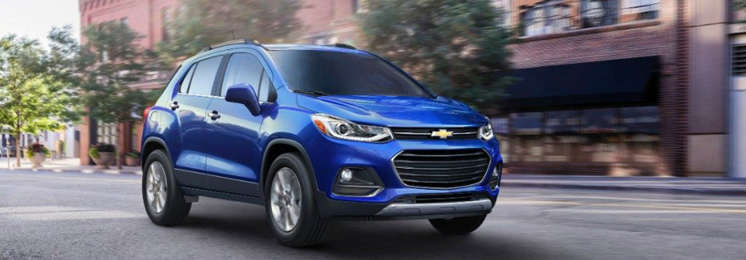 2017 Chevy Trax Colour Options