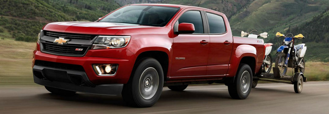 2017 Chevrolet Colorado Towing Capacity And Performance Specs