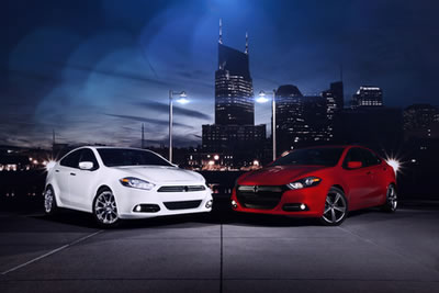 2013 Dodge Dart Named IIHS Top Safety Pick