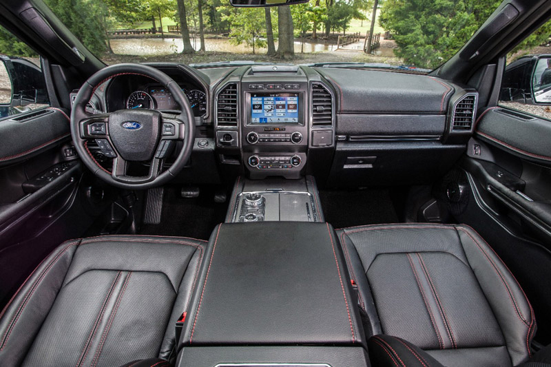ford expedition stealth edition interior