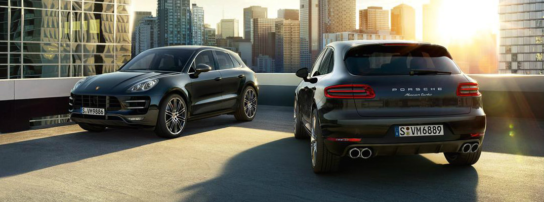 2017 Porsche Macan Trim Differences