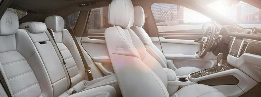 What Are The Leather Interior Options For The Porsche Macan?