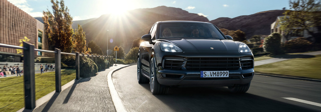 What Tech Features Are in the New 2018 Porsche Cayenne?