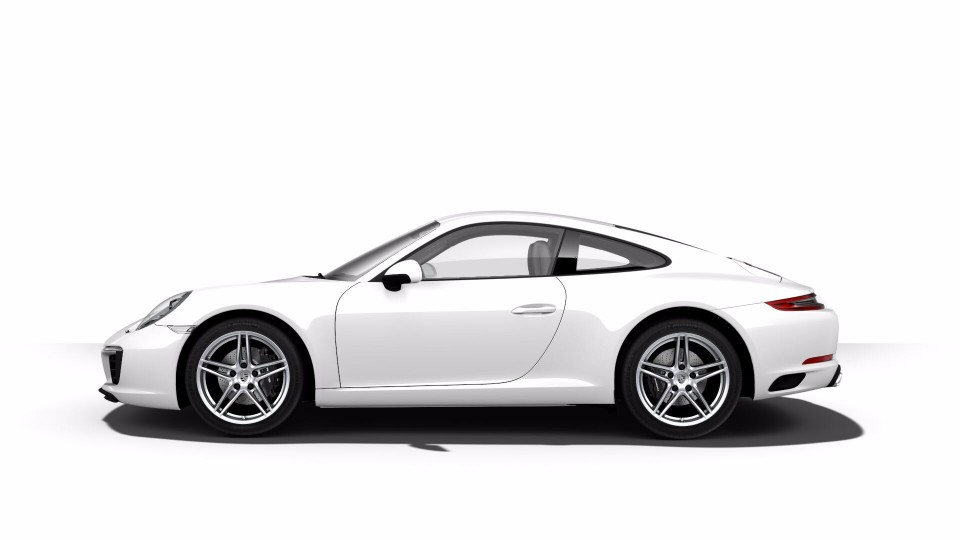 2018 Porsche 911 Carrara Exterior Paint Color Options