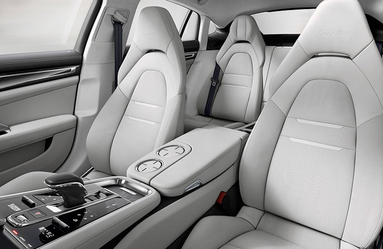 Interior Space Inside The 2018 Porsche Panamera