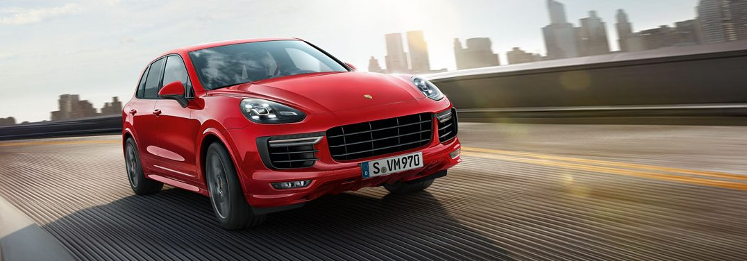What colors can I get the Porsche Cayenne GTS in?