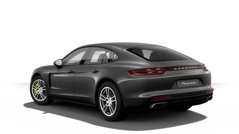 2018 Porsche Panamera 4 E Hybrid Agate Grey Metallic