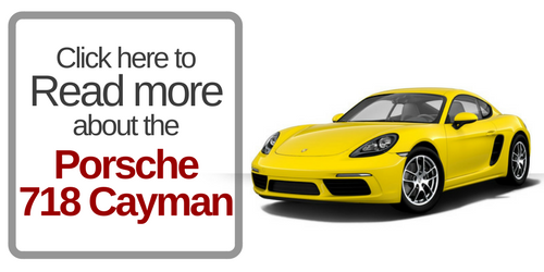 button that says click here to read more about the porsche 718 cayman