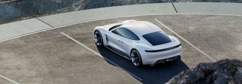 "Porsche renames the Mission-E Concept the ""Porsche Taycan"""
