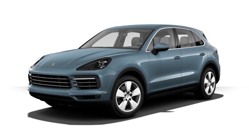 2019 Porsche Cayenne Biscay Blue Metallic