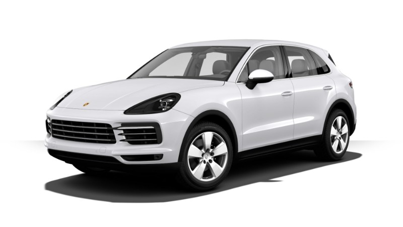 2019 Porsche Cayenne Carrera White Metallic