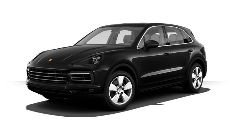 2019 Porsche Cayenne Jet Black Metallic