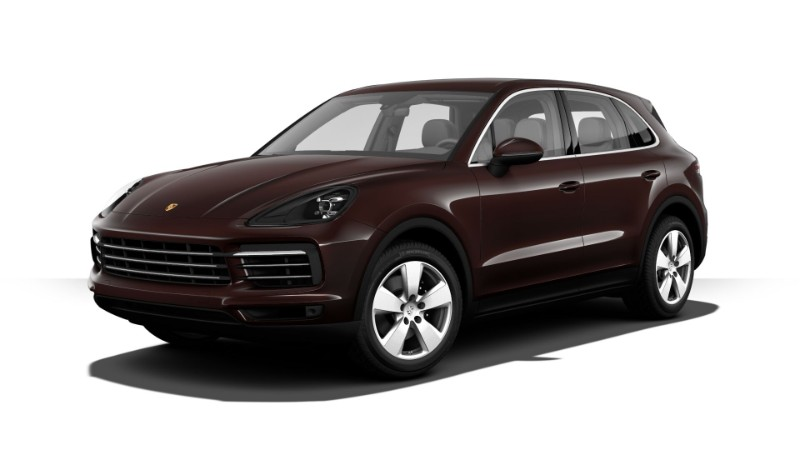 2019 Porsche Cayenne Mahogany Metallic