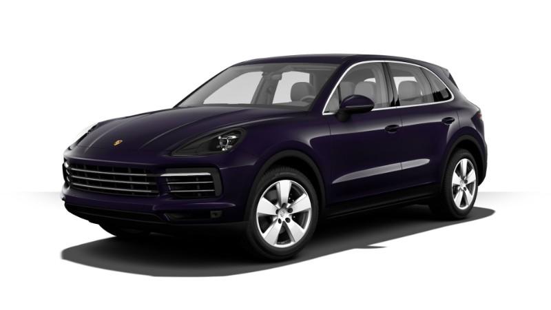 2019 Porsche Cayenne Purpurite Metallic