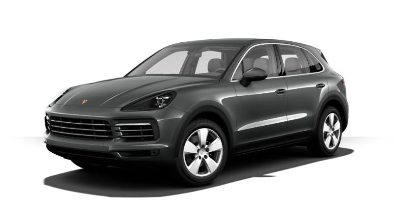 2019 Porsche Cayenne Quartzite Grey Metallic