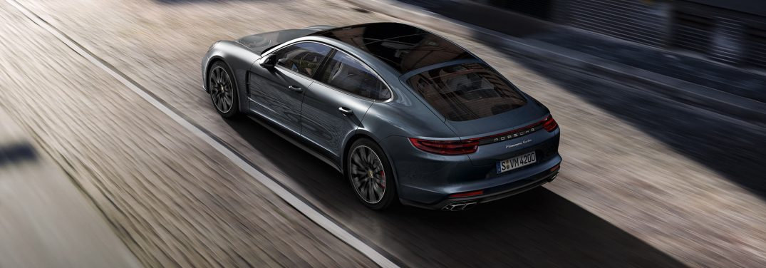 full view of the 2019 Porsche Panamera