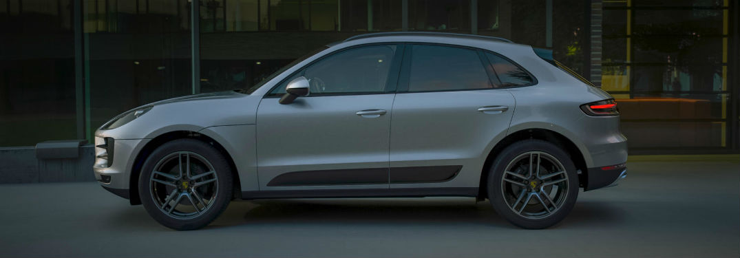 2019 Porsche Macan exterior drivers side profile