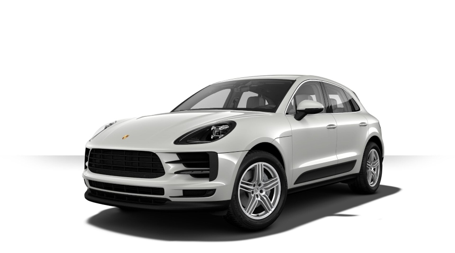 2019 Porsche Macan S in Chalk