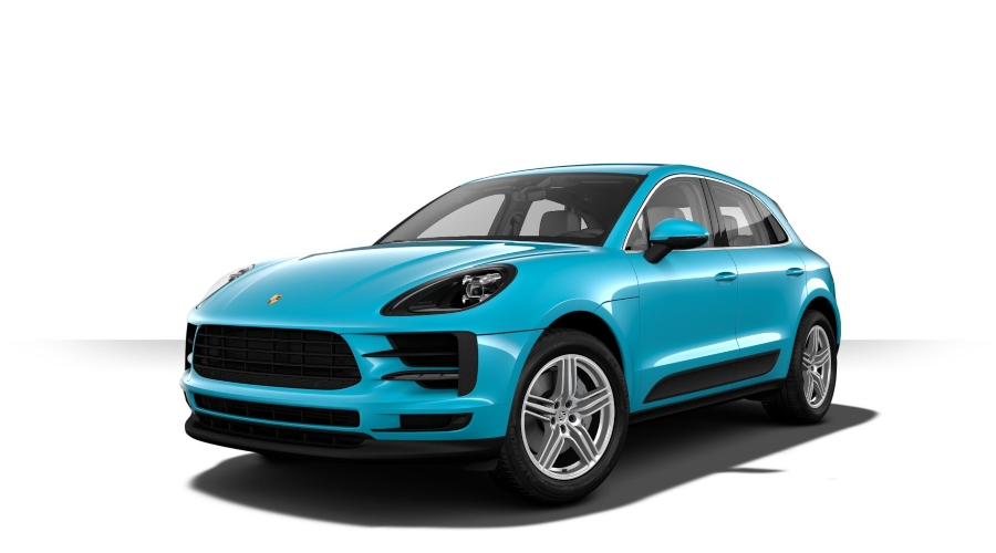 2019 Porsche Macan S in Miami Blue