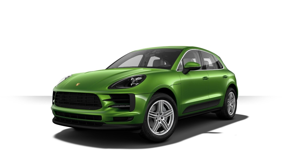 2019 Porsche Macan S in Mamba Green Metallic