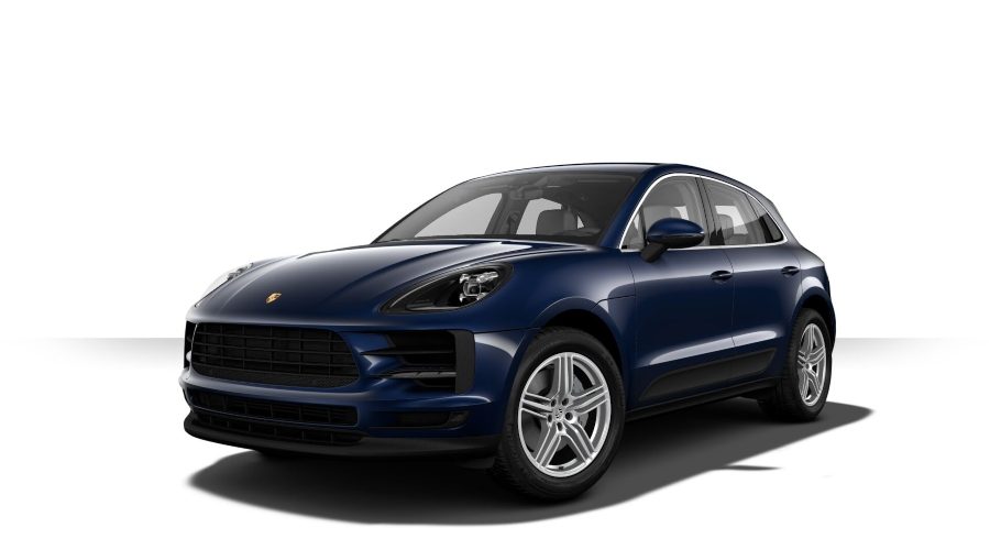 2019 Porsche Macan S in Night Blue Metallic