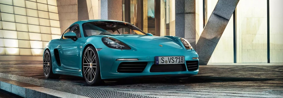 See How the Porsche 718 Cayman Efficiency Matches its Power